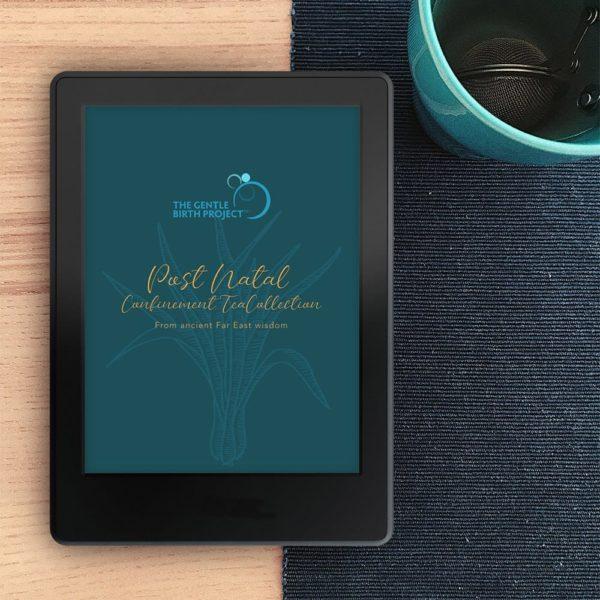 Tea for Two ebook: Postnatal Confinement Tea collection